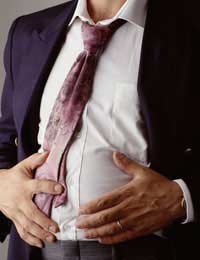 Stomach Cancer Tummy Young Adults White